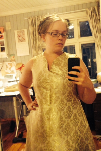 Work in progress - bodice fitting!